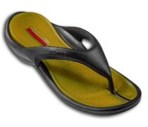 Herren Schuhe BEACH, Gummi, schwarz-gelb