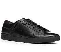 Herren Schuhe Sneaker Kalbleder schwarz