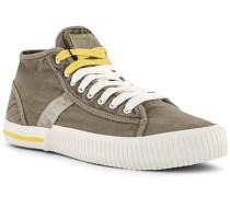 Schuhe Sneaker Textil braun