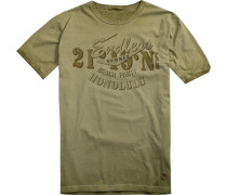 Herren T-Shirt Baumwolle helloliv