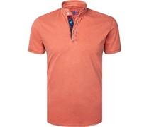 Polo-Shirt Baumwoll-Piqué rose