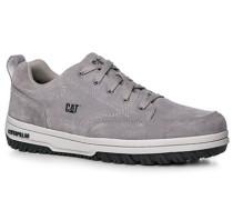 Herren Schuhe Sneaker, Verloursleder, grau