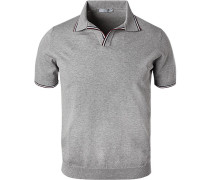 Polo-Shirt Baumwoll-Strick
