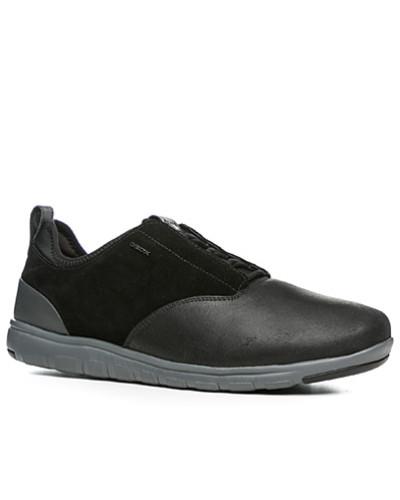 Geox Herren Schuhe Sneaker, Leder Respira®