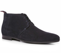 Herren Schuhe Desert-Boots Veloursleder nachtblau