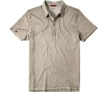 Herren Polo-Shirt Baumwoll-Jersey beige
