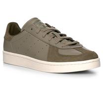 Schuhe Sneaker Velours-Glattleder jäger