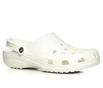 Schuhe Pantoletten Gummi weiß