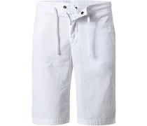 Hose Shorts Leinen