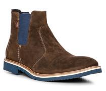Schuhe Chelsea Boots Finn, Veloursleder