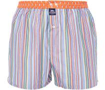 Herren Unterwäsche Boxershorts, Baumwolle, multicolor gestreift