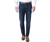 Herren Jeans Modern Fit Baumwoll-Stretch