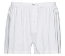 Herren Unterwäsche Boxer-Short Baumwoll-Stretch weiß