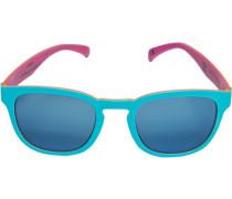 Herren Brillen adidas, Sonnenbrille, Kunststoff, himmelblau-orange multicolor