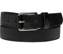 Herren Gürtel schwarz Breite ca. 3 cm