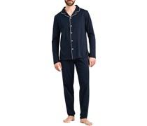 Schlafanzug Pyjama Baumwolle nacht