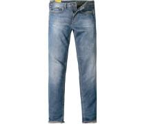 Herren Jeans Slim Fit Baumwoll-Stretch jeans