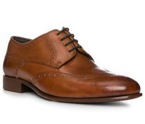 Schuhe Budapester Kalbleder cognac