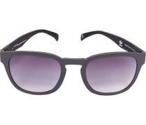 Herren Brillen adidas, Sonnenbrille, Kunststoff, grau-schwarz