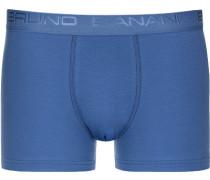 Herren Unterwäsche Trunk, Baumwoll-Stretch, blau