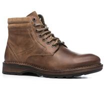 Herren Schuhe Schnürstiefelette Leder GORE-TEX® hellbraun braun,braun