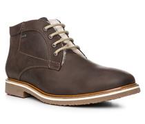 Herren Schuhe VARUS Rindleder warmgefüttert schokobraun