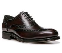 Schuhe Oxford Walker Kalbleder braun