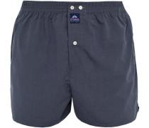 Herren Unterwäsche Boxershorts, Baumwolle, indigo blau