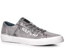 Herren Schuhe Sneaker Textil grau grau,blau