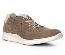 Herren Schuhe ALDO Veloursleder beige