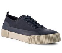 Schuhe Sneaker Rubber Canvas marine