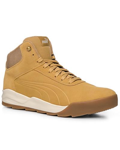 Puma Herren Schuhe Sneaker, Veloursleder, camel