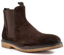 Schuhe Chelsea Boots Veloursleder terra