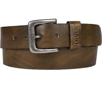 Herren Gürtel braun Breite ca. 4 cm