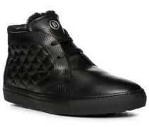 Herren Schuhe Desert Boots, Leder, schwarz