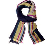 Herren  Schal Wolle multicolor gestreift