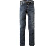 Herren Jeans Modern Fit Baumwoll-Stretch denim