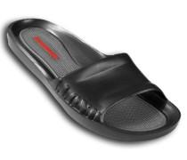 Herren Schuhe BEACH Gummi schwarz-grau
