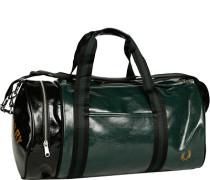 Herren  FRED PERRY Sporttasche Kunstleder schwarz-grün