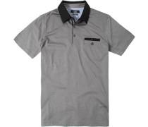 Herren Polo-Shirt Baumwoll-Jersey gemustert