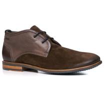 Herren Schuhe Desert Boots Leder mittelbraun
