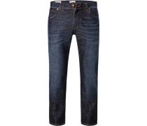 Jeans, Baumwoll-Stretch, nacht