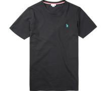 Herren T-Shirt, Baumwolle, schwarz