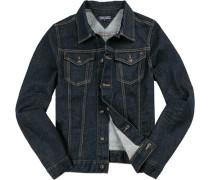 Herren Jacke Jeans indigo blau