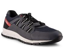 Schuhe Sneaker Kunstleder-Textil dunkelblau