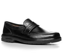 Herren Schuhe Slipper Lammnappa schwarz