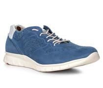 Herren Schuhe ALDO Veloursleder blau