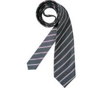 Herren Krawatte Edsor grau