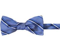 Herren Krawatte Schleife Seide gestreift