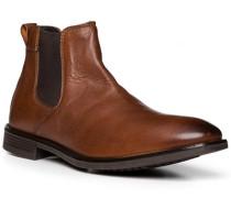 Schuhe Chelsea Boots Rindleder cognac